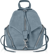 Rebecca Minkoff Julian Dusty Blue Nubuck Medium Backpack