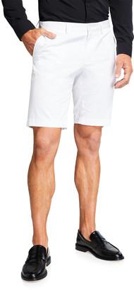 Dolce & Gabbana Men's Solid FF Twill Shorts