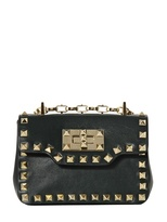 Valentino Rockstud Nappa Leather Bag