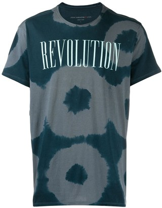 John Varvatos printed 'Revolution' T-shirt