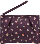 Cath Kidston Mallory Sprig Printed Leather Pouch