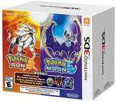 Nintendo Pokemon Sun and Pokemon Moon Dual Pack with 3 Pokemon Figures 3DS