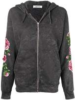 Circus Hotel embroidered tie dye hoodie