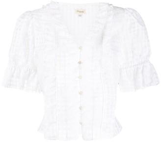 Temperley London Donna ruffle blouse