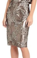 Phase Eight Patientia Sequined Pencil Skirt