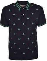Gucci Embroidered Polo Shirt