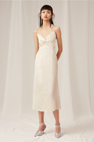 Keepsake THESE DAYS MIDI DRESS creme