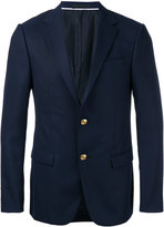 Z Zegna gold button blazer