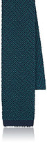 Boglioli Men's Chevron-Knit Silk Necktie