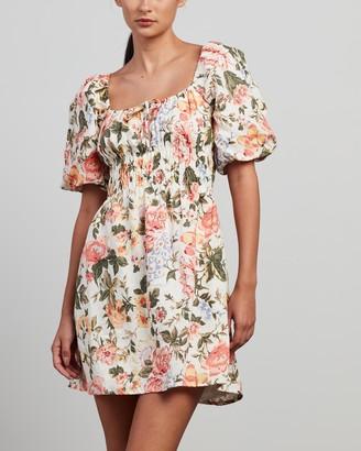 Faithfull The Brand Women's Multi Mini Dresses - Nikoleta Mini Dress - Size 6 at The Iconic
