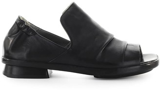 Ixos Silene Black Flat Sandal