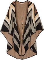 Mara Hoffman Cotton-blend jacquard cape