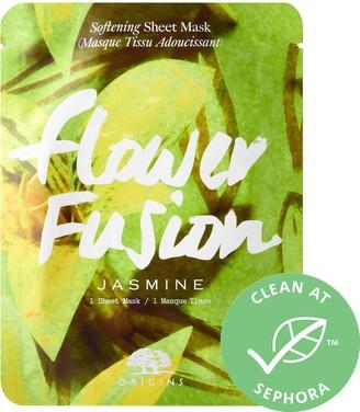 Origins Flower Fusion Jasmine Softening Sheet Mask
