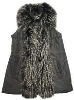 Parkhurst Faux Fur Trim Vest