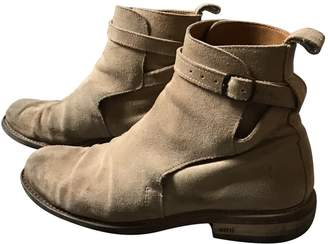 Ami Brown Suede Boots