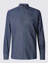 Collezione Pure Cotton Tailored Fit Checked Shirt
