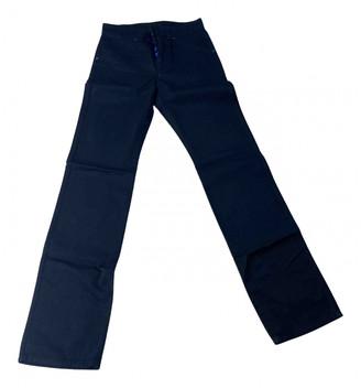 Louis Vuitton Black Denim - Jeans Trousers