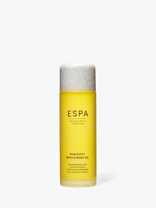 Espa Positivity Bath and Body Oil, 100ml
