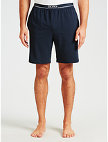 Hugo Boss Boss Jersey Logo Lounge Shorts, Navy