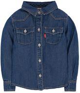 Levi's Baby Girl Western Button-Down Denim Shirt