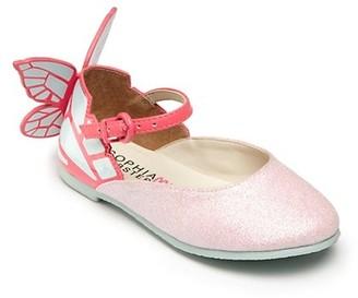 Sophia Webster Baby's, Toddler's & Kid's Chiara Mini Pink Glitter Shoes
