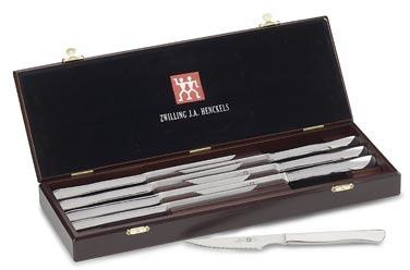 Zwilling J.A. Henckels 8-Piece Stainless Steel Steak Knife Gift Set