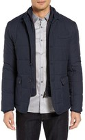 Ted Baker Jasper Trim Fit Quilted Jacket with Removable Bib