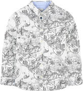 Paul Smith Printed shirt La Tour de Big Apple