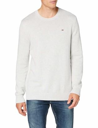 Tommy Jeans Men's TJM Essential Crew Neck Sweater