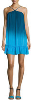 Young Fabulous and Broke Lissa High-Neck Ombre Shift Dress