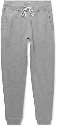 Rag & Bone Slim-Fit Tapered Melange Cotton-Blend Jersey Sweatpants