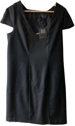 Hotel Particulier Black Wool Dress for Women