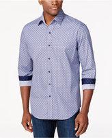 Tasso Elba Medallion-Print Long-Sleeve Shirt, Only at Macy's