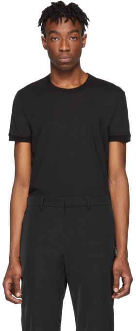 Dolce & Gabbana Black Plain T-Shirt