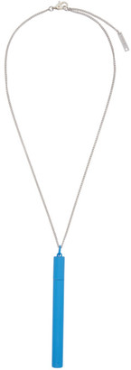 Ambush Blue Cig Case Necklace