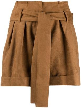Liu Jo Tie-Waist Shorts