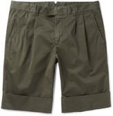 Boglioli - Stretch-cotton Shorts