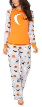 Munki Munki Matching Women's Spooky Sketchy Halloween Family Pajama Set