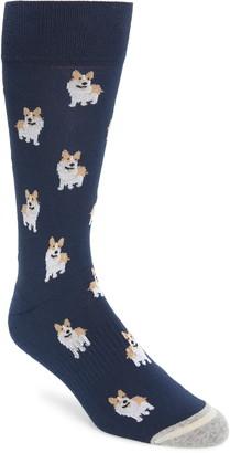 Nordstrom Corgi Cushion Socks