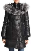 Mackage Lizette Fox Fur Trim Down Coat - 100% Bloomingdales Exclusive