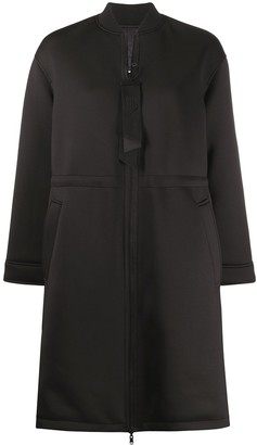 Emporio Armani Zipped Midi Coat
