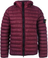 Stone Island classic padded jacket - men - Feather Down/Polyamide/Polyurethane Resin/Polyimide - S
