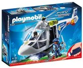 Playmobil 6921 City Police Helicopter with LED Searchlight