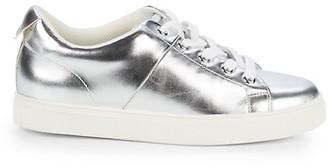 Saks Fifth Avenue Talico Metallic Leather Sneakers
