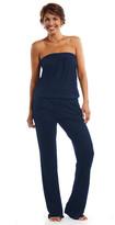 Debbie Katz Strapless Jersey Jumpsuit