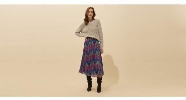 BA&SH Bash Paolo Skirt