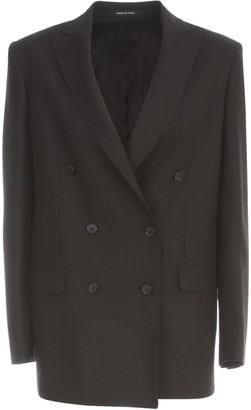 Tagliatore Gabardine Wool Duoble Breasted Jacket