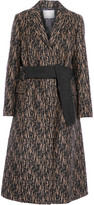 3.1 Phillip Lim Slim printed wool-blend coat