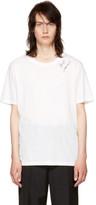 Saint Laurent White Logo Signature T-Shirt