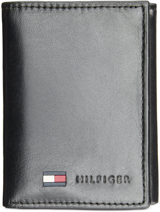 Tommy Hilfiger Leather Trifold Wallet